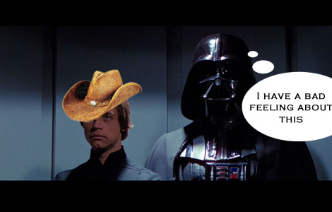 Jedi with a hat