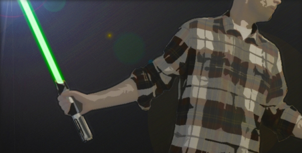 redneck lightsaber