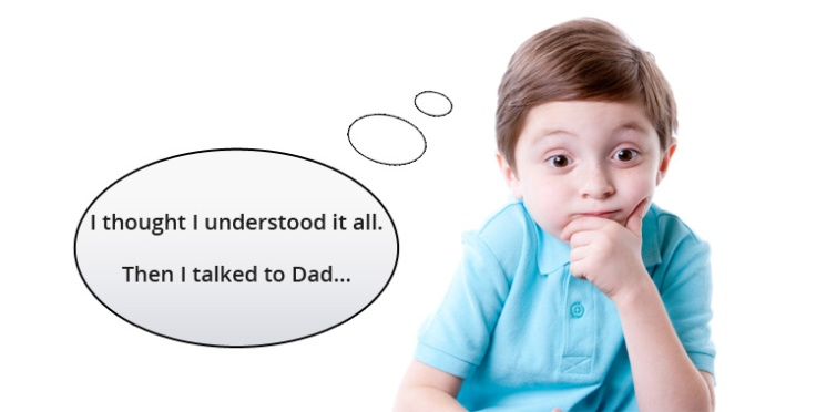 Talked to dad