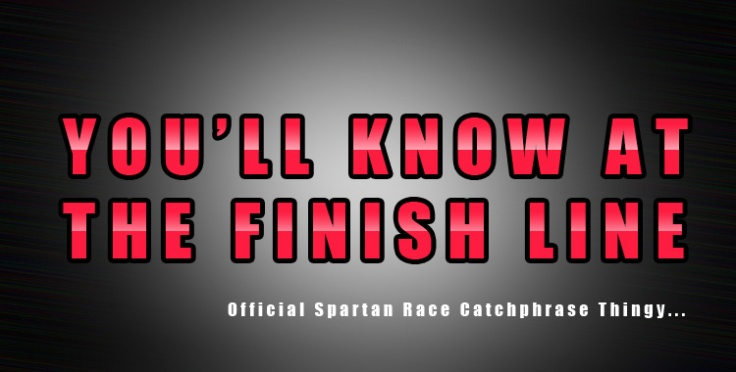 Spartan Sprint Finish Line
