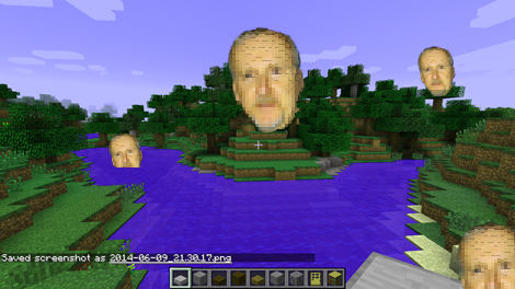 Minecraft Cameron