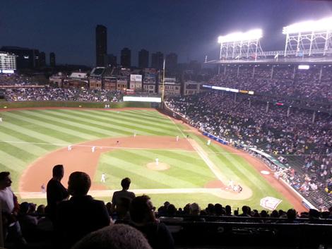 Cubs night game