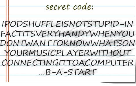 Secret Apple Code