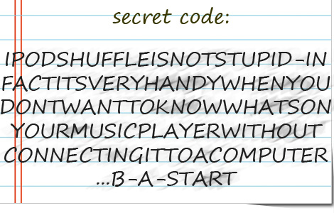 Secret Apple Code